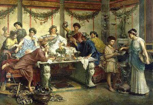 Het Romeinse sociale leven.