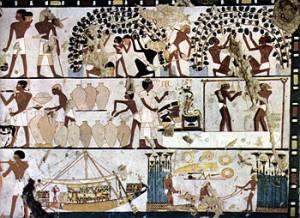 Muurtekeningen 1500 voor Chr.